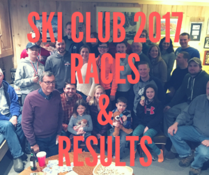 Ski Club 2017 Races & Results